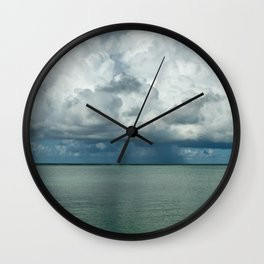 Heavy clouds Wall Clock