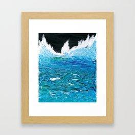 Dreaming in Ocean Framed Art Print