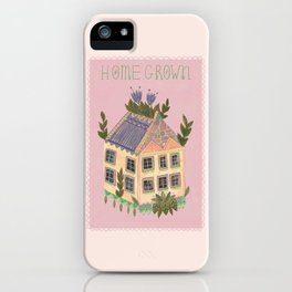 Home Grown iPhone Case