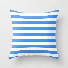 Micronesia San Marino Somalia Nicaragua flag stripes Throw Pillow