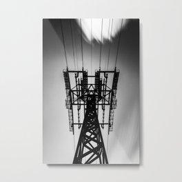 Roosevelt Island Tram Station Metal Print