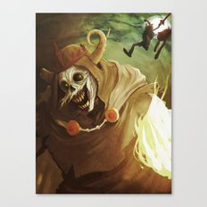 The Lich Canvas Print