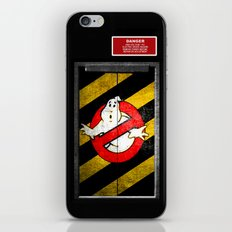 ghost trap iPhone & iPod Skin