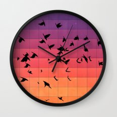 dyspyryt dysk Wall Clock