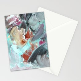 Brush Wave Stationery Cards