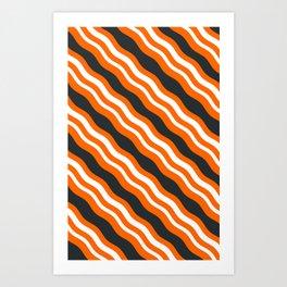 Bacon Wrap Art Print