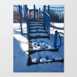 Winter's Playground Canvas Print