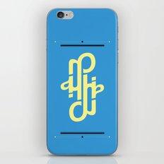 Type Foundry - Helvetica Neue Bold Italic iPhone & iPod Skin