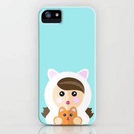 I'm a ladycat iPhone Case