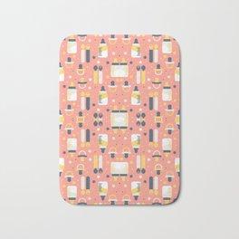 Modern Elements Pattern Art Bath Mat