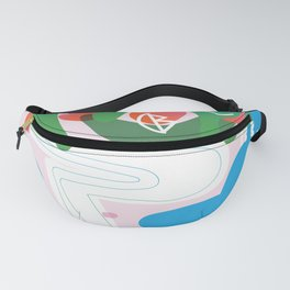 Abstract Playground - Minimal Shapes Fanny Pack