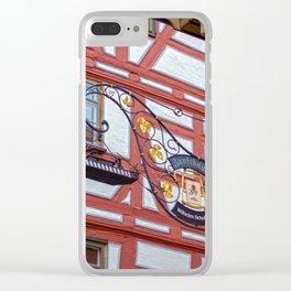 Zunfthaus Ulm Clear iPhone Case
