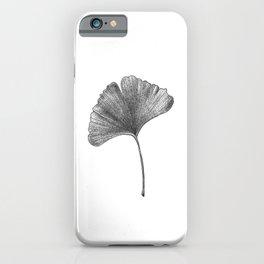 Ginko Leaf iPhone Case