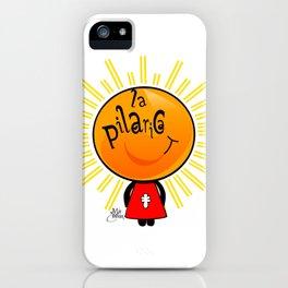 la pilarica iPhone Case