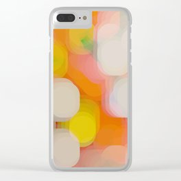 shimmering lights Clear iPhone Case