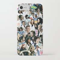 greys anatomy iPhone & iPod Cases featuring Greys Anatomy - Too Sassy for You by drmedusagrey