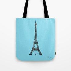 Eiffel Tower - First Kiss Tote Bag