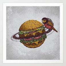 planet food Art Print