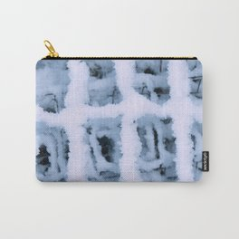 Snow Pattern Carry-All Pouch