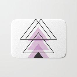 Minimalist Triangle Series 005 Bath Mat