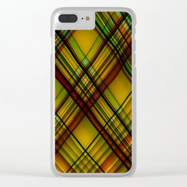 Queen of the Tartans Clear iPhone Case