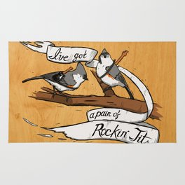Rockin' Tits Rug
