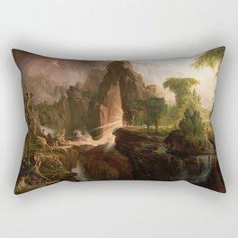 Thomas Cole - Expulsion from the Garden of Eden, 1828 Rectangular Pillow