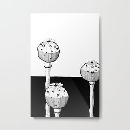 STATE OF INTOXICATION Metal Print
