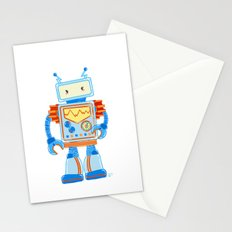 Blue Robot Stationery Cards