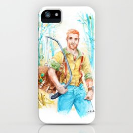 Ginger Valley iPhone Case