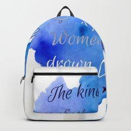 DROWN OCEANS | RUPI KAUR Backpack