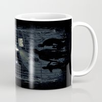 zombies Mugs featuring Zombies Inn by nicebleed