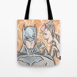 The Bat and The Cat Tote Bag