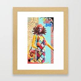 MySweetFreak - Molly Framed Art Print