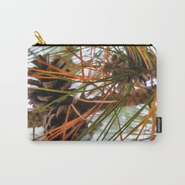 Pine Cone in Pine Tree Carry-All Pouch