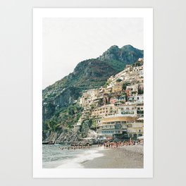 Positano Film Art Print