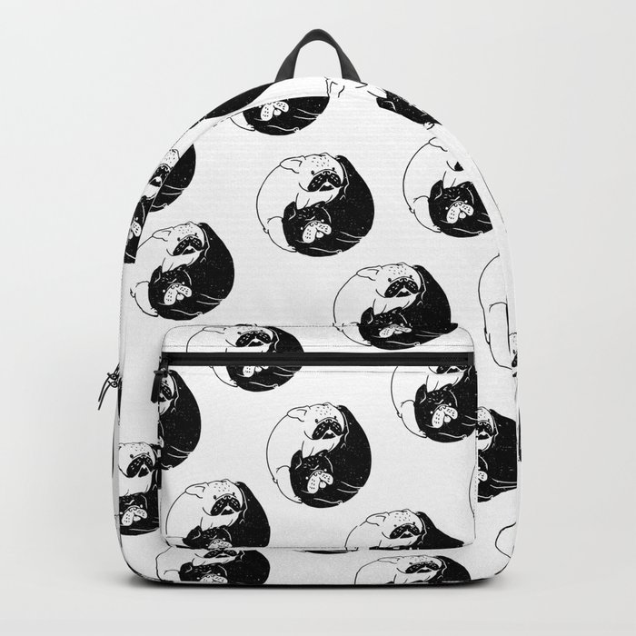 The Tao of French Bulldog Backpack