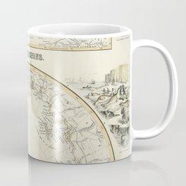 Map Of The Arctic 1856 Coffee Mug