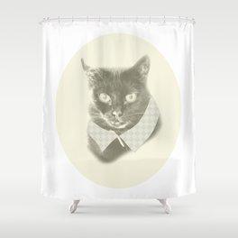 Miss Kitty Shower Curtain