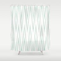 transparent Shower Curtains featuring Transparent by Ashton & Harper