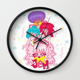 fanart Jem and the Holograms Wall Clock