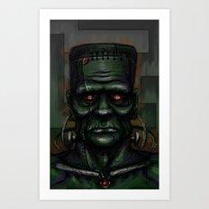 Frankenstein's Automaton Art Print