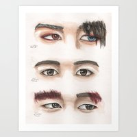 VIXX - Maknae eyes Art Print