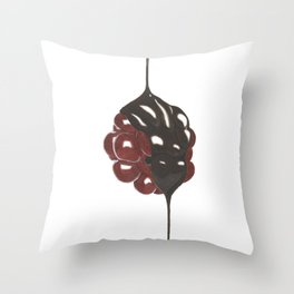 Dripping Chocolate Throw Pillow
