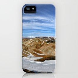 Landmannalaugar, Iceland iPhone Case