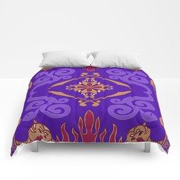Aladdin Purple Magic Carpet Comforters
