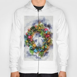 Christmas Wreath Hoody