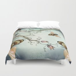 all the buzz Duvet Cover