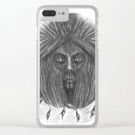 Ghoul Closet Clear iPhone Case