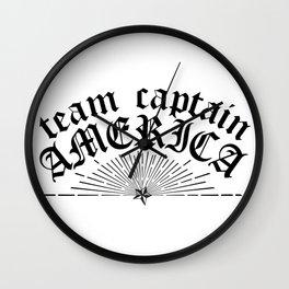 Team Cap Wall Clock